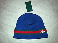 Женская вязаная шапка (Гучи), фото 1