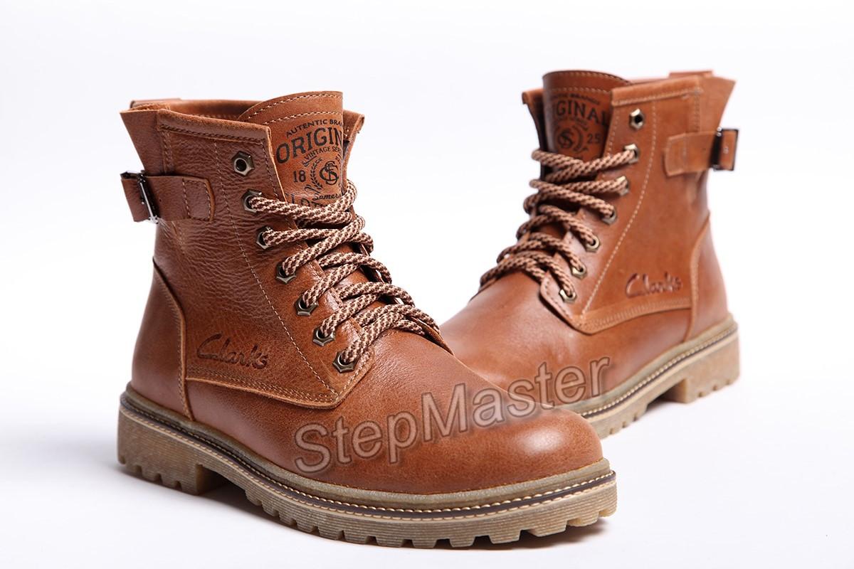 Кожаные Мужские Ботинки Clarks Montacute Brown Leather — в Категории ... 4cf40c82d3c48