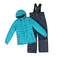 Зимний лыжный термокостюм 8-16 лет (Канада)  ТМ SNO F18 M 318 AF для девочки-подростка р. 128 140 152 158 164, фото 1