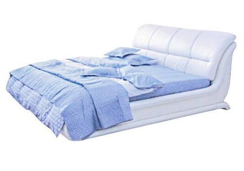 Ліжко з мякою спинкою з підйомним механізмом Анабель (160 х 200) КІМ