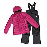 Зимний лыжный термокостюм 7-16 лет ТМ SNO F18 M 318 AF для девочки-подростка р. 128 140 152 158 164, фото 1