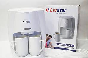 LSU-1190 Кофеварка LIVSTAR  на 2 чашки