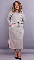 Платье Леся серый