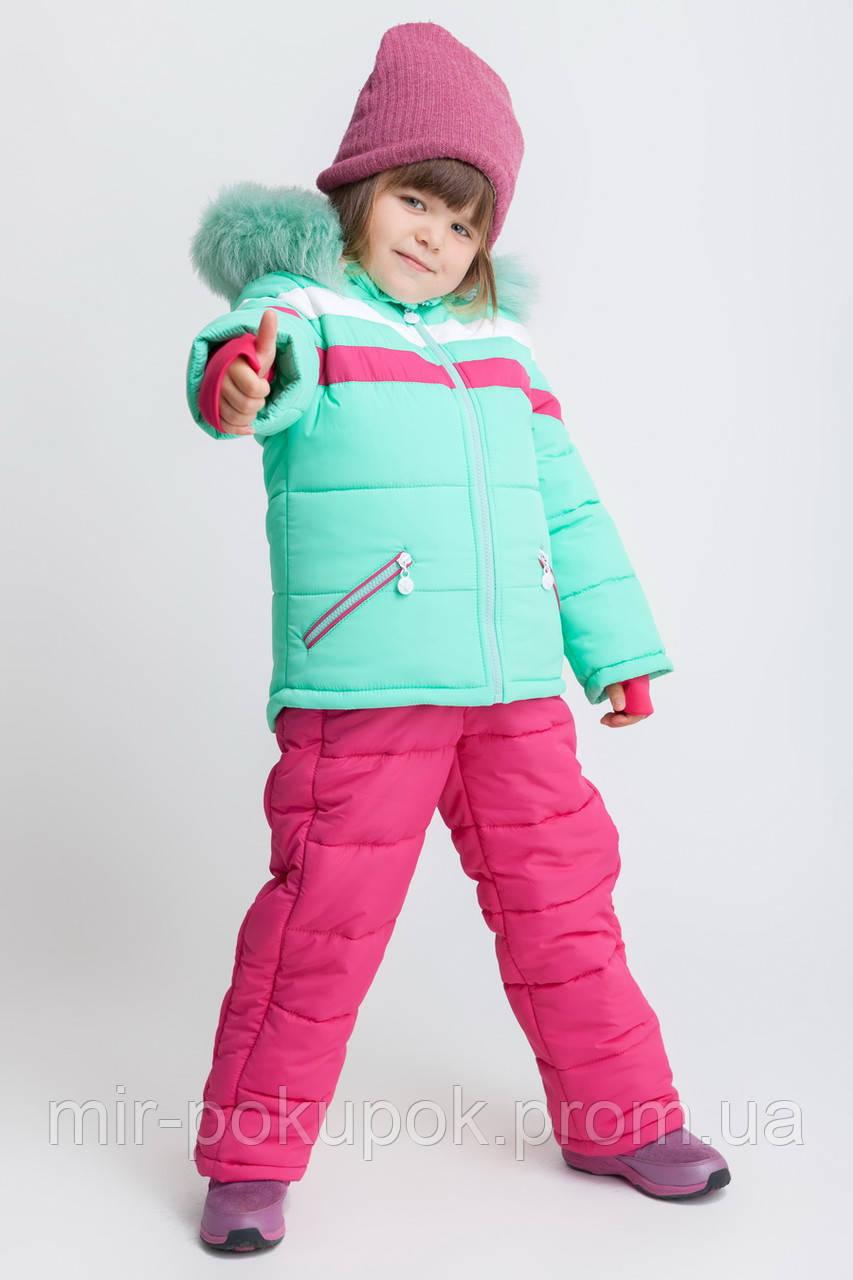 Зимний размельный комбинезон для девочек KD-1 мята
