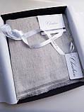 Кашемировый вуальный шарф Chadrin белый, фото 4