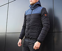"Мужская куртка Pobedov Jacket ""Rise"" (Navy - Black) Осень-Еврозима"
