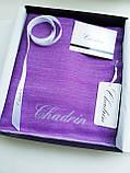 Легендарный кашемировый шарф Chadrin фиолетовый/сиреневый, фото 4