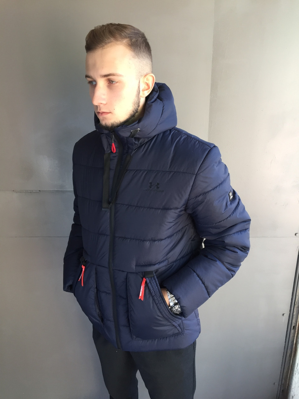 Куртка мужская Under Armour.Тёмно синий