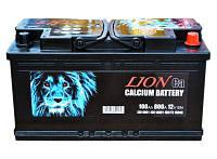 Аккумулятор автомобильный Lion 100А Ев (-/+) (800EN) Плюс справа