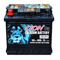 Аккумулятор автомобильный Lion 50А (+/-) (400EN) Плюс слева