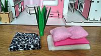 Кукольный набор текстиля для «Гостиной» (3113) 6 предметов