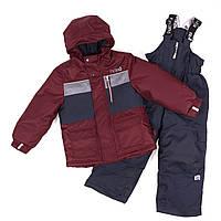 Зимний комплект для мальчика NANO F18 M 273 Red Leaf. Размеры 2-12., фото 1