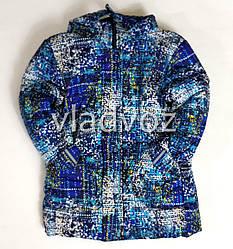 Детская зимняя утепленная куртка для мальчика евро зима 4-5 лет
