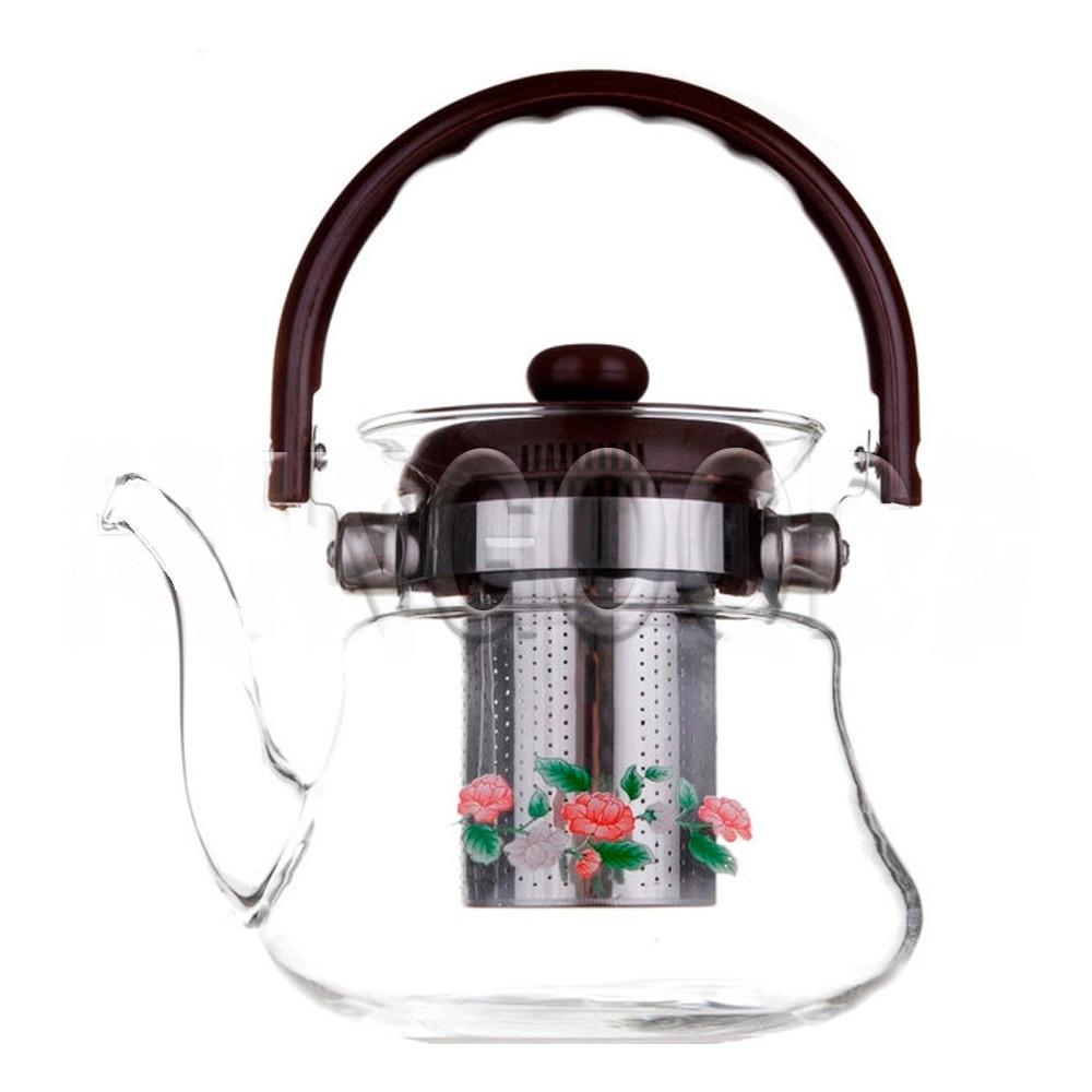 Заварной чайник 800 мл Термостекло А ПЛЮС 1041