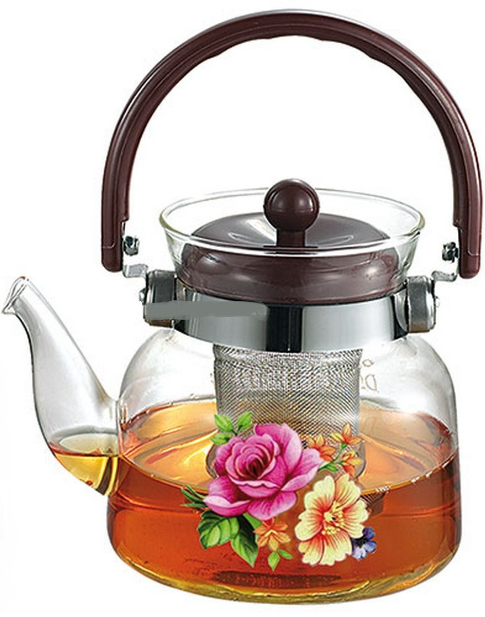 Чайник Зaвapник 0,6 л. из cтeклa Stenson MS-0131