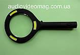 Лупа ручная, Ø 85 мм, 3-х кратная, с подсветкой, фото 3