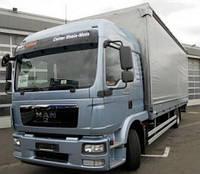 Лобовое стекло MAN TGM 12.290 кабина LX, триплекс
