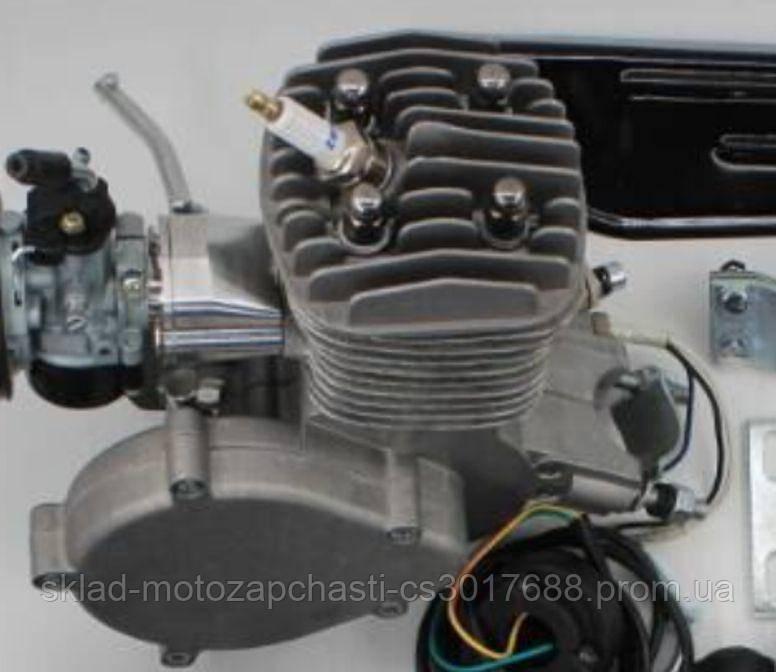 Веломотор / мотовелосипед в зборі 80см3/ 80 сс заводського якості без стартера повний комплект