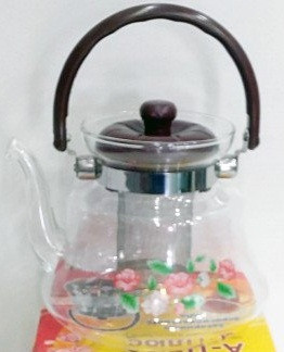 Заварной чайник 2200 мл Термостекло А ПЛЮС 1043