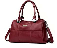 Стильная женская сумка бочонок, фото 2