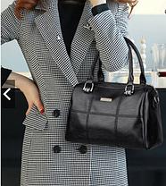 Стильная женская сумка бочонок, фото 3