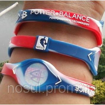 Power Balance NBA All Star Editiion браслет силы турмалин