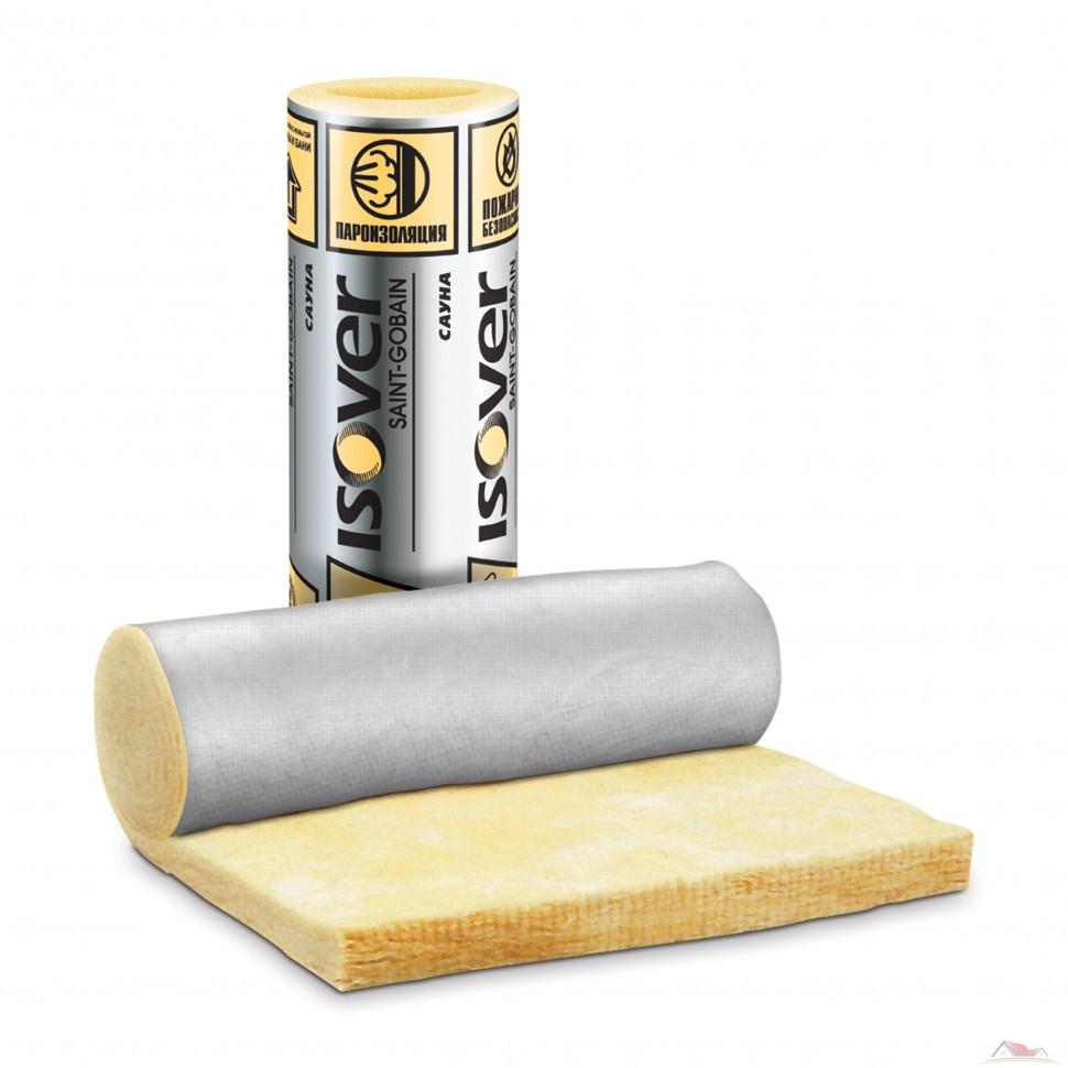 Утеплитель ISOVER фольгированный Сауна 50мм 15 м2
