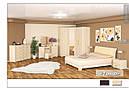 Шафа кутова в спальню з ДСП Токіо Мебель Сервіс, фото 5