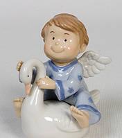 Фарфоровая статуэтка Ангелочек 12 см Pavone CMS - 11/31