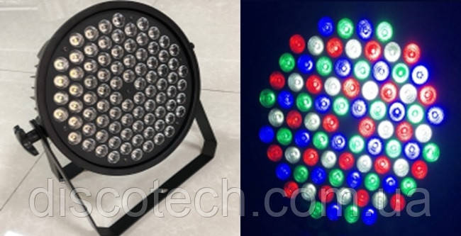 Комплект из 8 паров City Light ND-84B LED PAR LIGHT 84*3W (RGBW) в кейсе