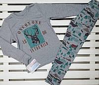 "Пижама для мальчика хлопковая ТМ ""Фламинго"" рост 128, фото 1"