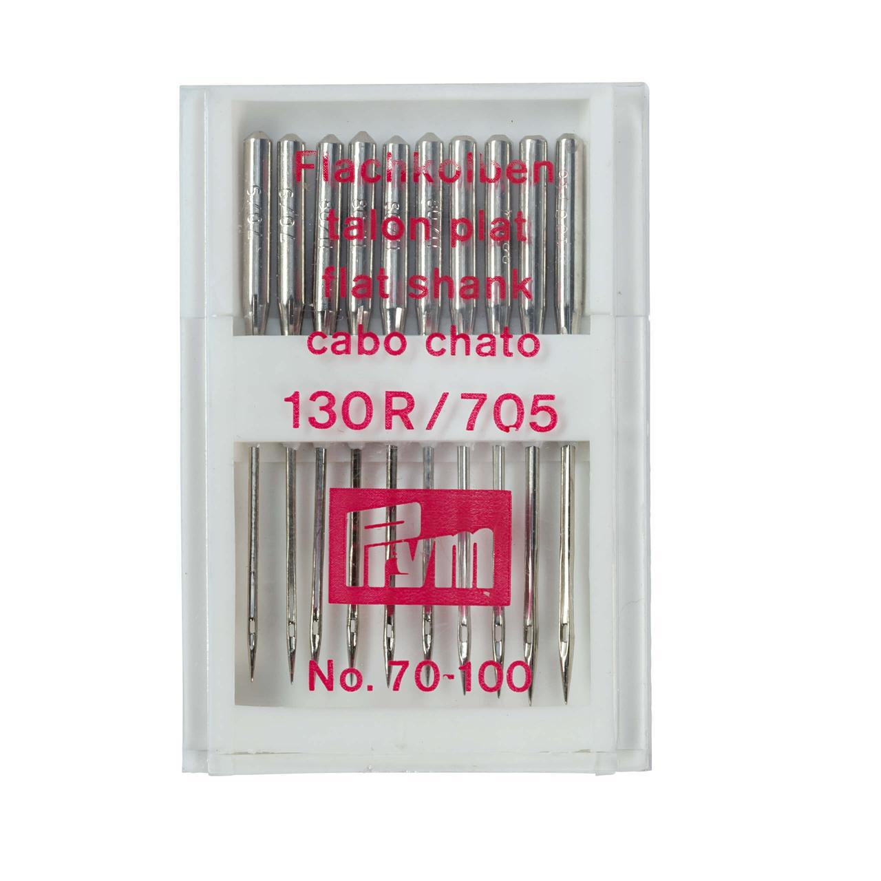 Иглы для швейных машин Prym 151300 (130-705 70-100, 10 шт.)