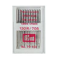 Иглы для швейных машин Prym 151300 (130-705 70-100, 10 шт.), фото 1