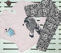 Пижамка для девочки подростка ТМ Фламинго рост 146, фото 1