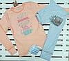 Пижама для девочки подростка рост 152 Фламинго