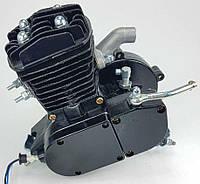 Веломотор (дырчик) 80см3 без стартера без комплекта черный