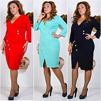 Платье женское большие размеры  СВ982, фото 1