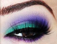 Набор теней для профессионального макияжа Дуо Люкс Code Color