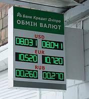 Торцевой обменник на 3 валюты