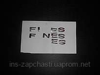 Буквы на Ford Fiesta, Focus,Fusion, Mondeo - S,E