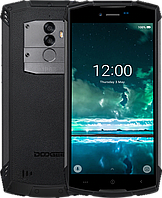 Doogee S55, IP68, 4/64 Gb, 5500 mAh, двойная камера 13+8 Mpx, Android 8.0, 3G/4G, 8 ядер, дисплей 5.5""
