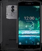 "Смартфон Doogee S55, IP68, 4/64 Gb, 5500 mAh, двойная камера 13+8 Mpx, Android 8.0, 4G, 8 ядер, дисплей 5.5"""