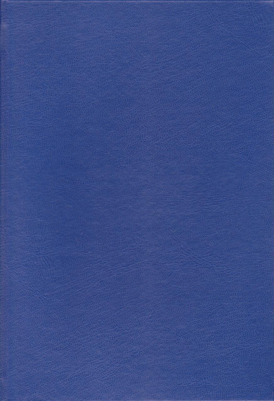 Канцелярская книга А4 200 л. тв. переплёт Бумвинил синяя