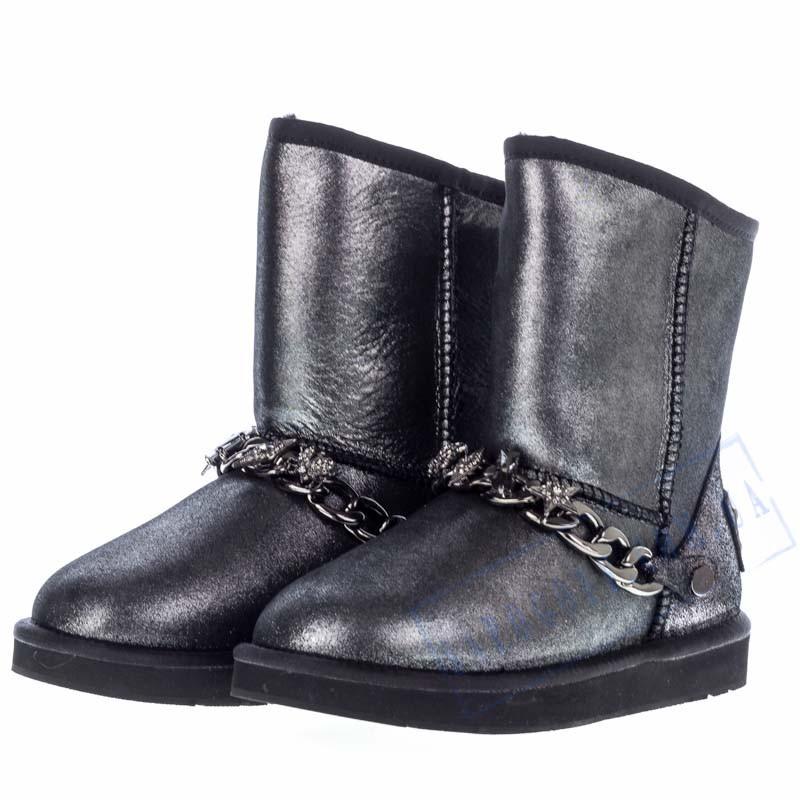 Угги UGG Australia женские AA28 кожаные 2019