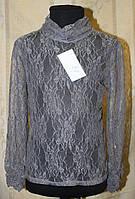 Гольф-блуза кружевная для девочки.
