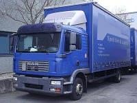 Лобовое стекло MAN TGM 12.280 кабина L, триплекс