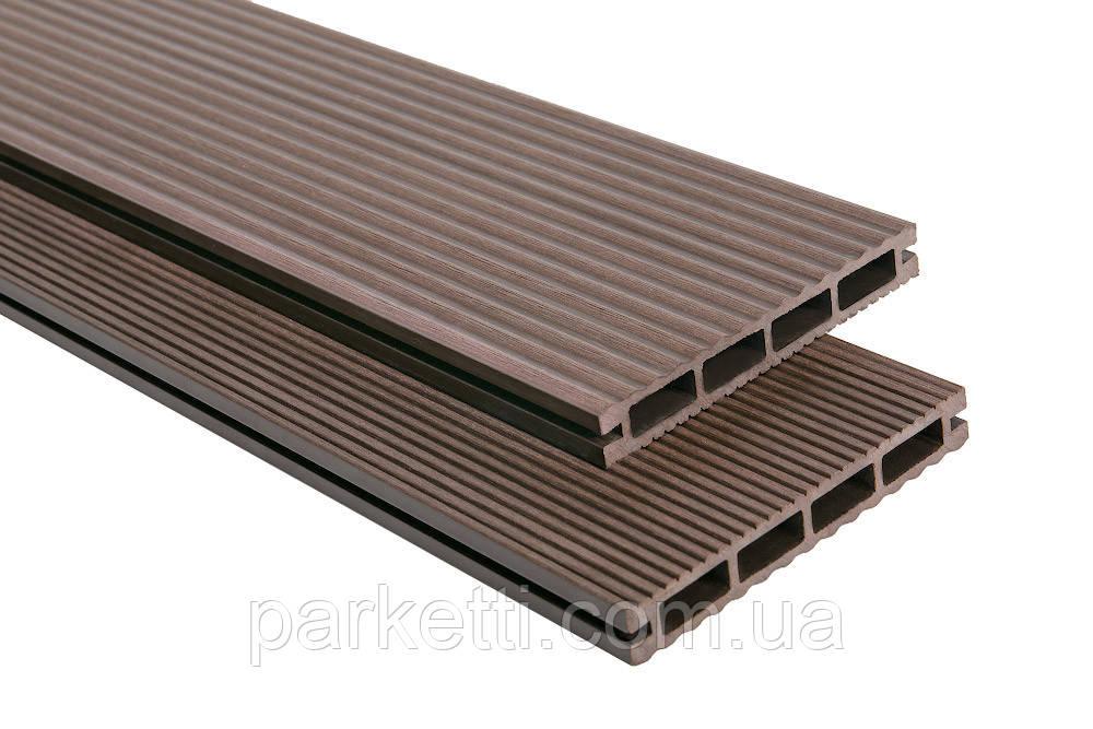 Террасная доска Polymer & Wood Лайт Венге