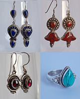 Новинки: серебряные серьги и кольца