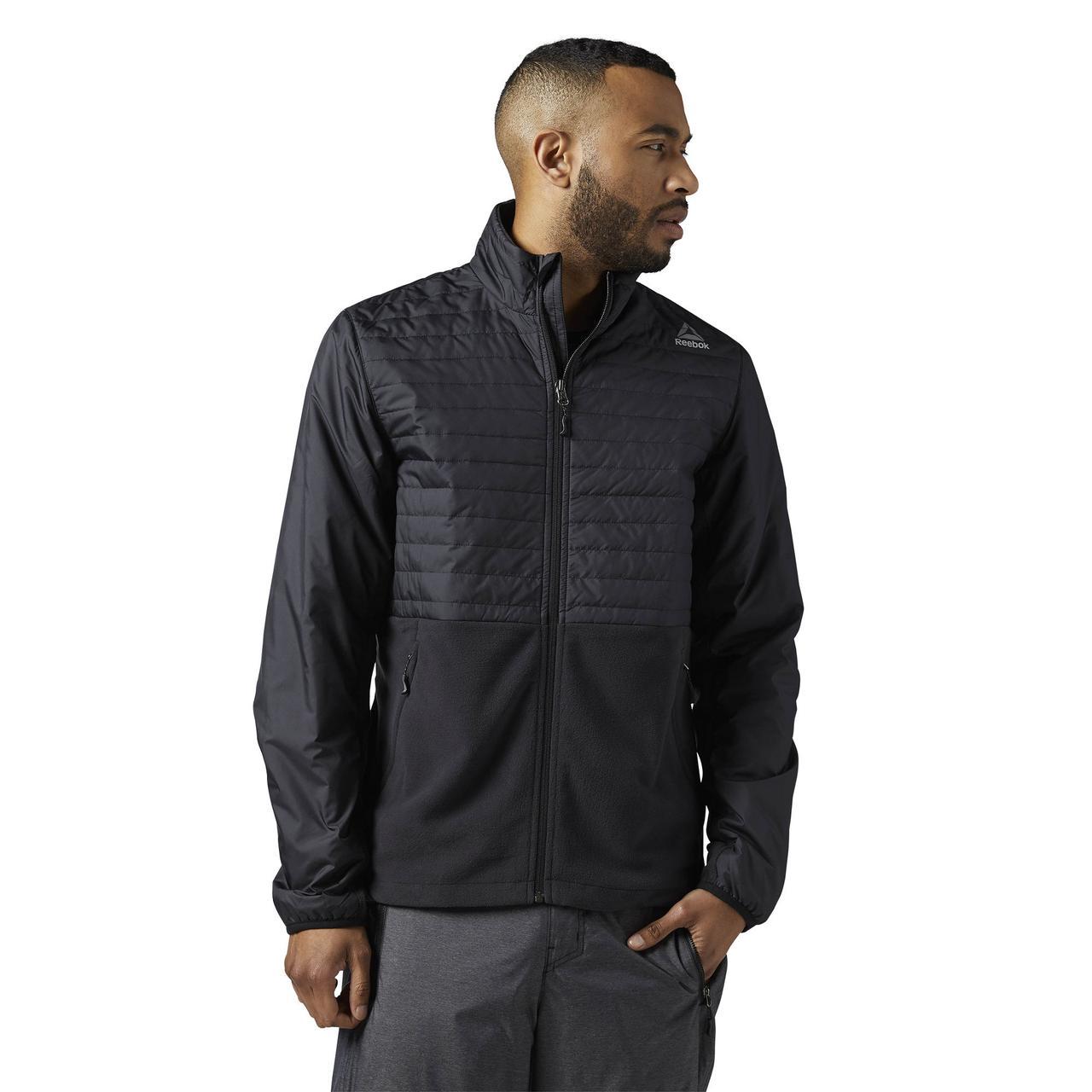 Мужская куртка Reebok Outdoor Combed Fleece (Артикул: BR0457)