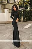 Вечернее  гипюровое платье Размеры: 42 44 46, фото 3
